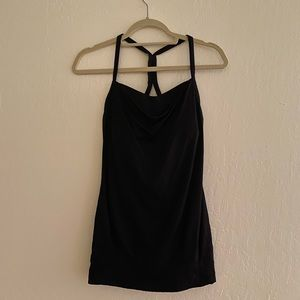 Lululemon Workout top- bra is attached